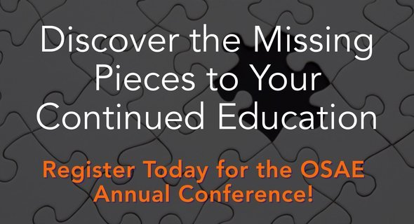 Click Here to Register for the OSAE 2017 Annual Conference
