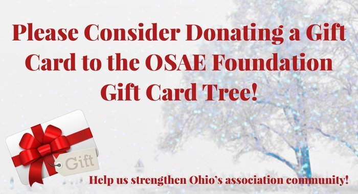 2017 OSAEF Holiday Luncheon Donation Postcard