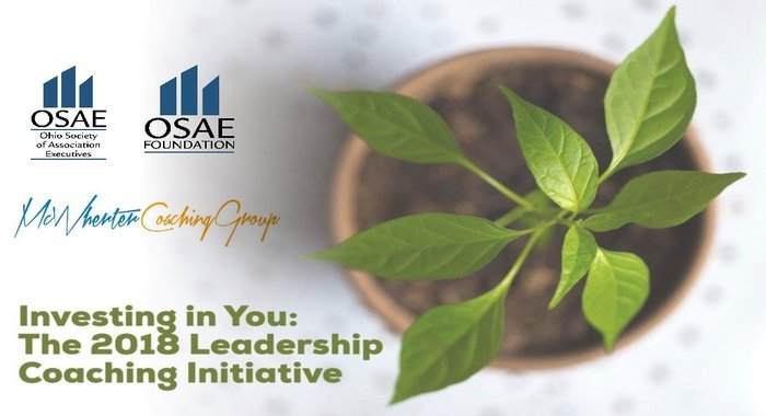 Investing in You The 2018 Leadership Coaching Initiative