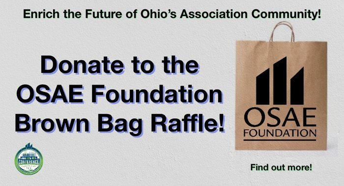 Submit Your Donation for the OSAE Annual Conference Brown Bag Raffle