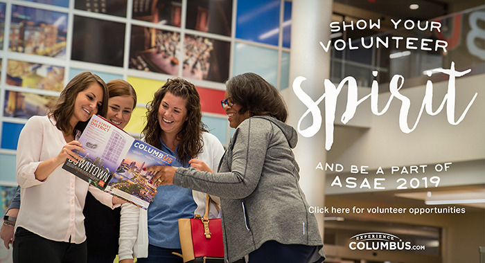Volunteer Now for ASAE 2019 AM